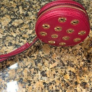 MICHAEL KORS COIN PURSE(burgundy red)